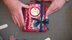 52 Mini Album Journals and Such:  Project 10: Before TP Roll Mini and Fr...