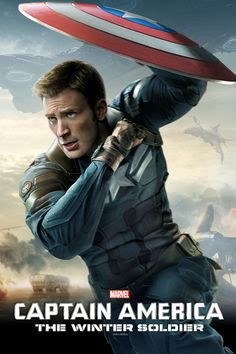 Captain America: The Winter Soldier Movie Poster. Probably already pinned but who cares