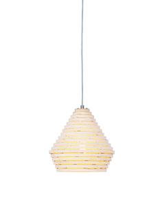 WISZĄCA LAMPA DREWNIANA VERMONT 35CM - La Bambetle - 1049 PLN
