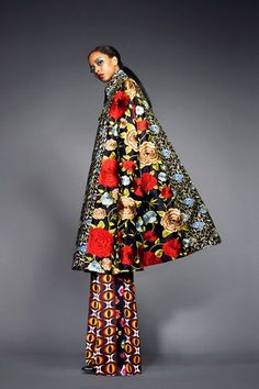 Toya's Tales: What Will Catch My Eye?: When Ladylike Glam Collides With Fantastical Prints at Duro Olowu's Fall 2013 Presentation