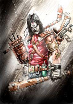 Casey Jones TMNT by Vinz-el-Tabanas.deviantart.com on @DeviantArt