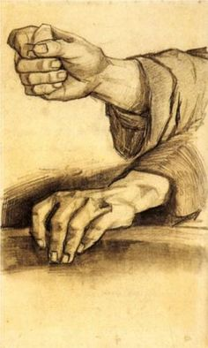 "Vincent van Gogh ~ ""Two Hands"""