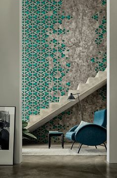 wall deco at maison et objet with its indoor wallpaper collection