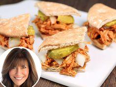 Low-Calorie BBQ Pulled Turkey Sliders! YUMMMMMM!!