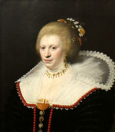 Jan Anthonisz van Ravesteyn, Portrait of a woman, Museum of Art and History, Narbonne