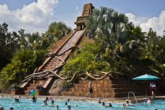 Coronado Springs Pool Pyramid