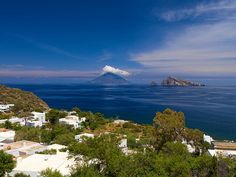 View of Stromboli from Panarea  by adam butler photography, via Flickr