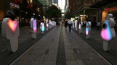 Interactive public art sculpture by ENESS for City of Sydney.