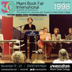 Panel Discussion at Miami Book Fair International, 1998