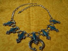 Vintage Sarah Coventry Turquoise & Silvertone Necklace