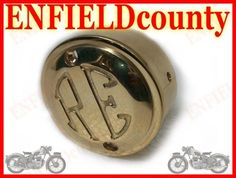 POINT DISTRIBUTOR COVER WITH RE LOGO ROYAL ENFIELD BRASS MADE