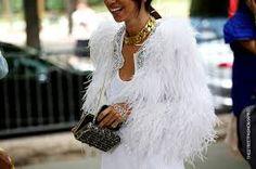 white style street fashion