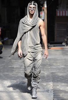 Boris Bidjan Saberi | macabre | dark fashion | goth | obscure | high fashion | runway | catwalk