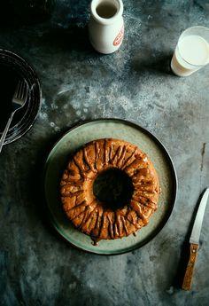 Spelt Apple Teacake with a Cinnamon Glaze