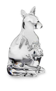 Steuben Kangaroo Hand Cooler Corning Museum Of Glass, Glass Museum, Steuben Glass, American Craftsman, Reindeer Ornaments, Glass Animals, Neon Lighting, Decorative Bells, Fireworks