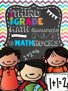 MATH COMMON CORE ASSESSMENTS - All CCSS included with answer keys! These are a great way to progress monitor, collect data, and a great way for student's to take ownership and responsibility for their learning! #TPT #Mathrocks