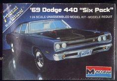 '69 DODGE 440 SIX PACK  MODEL KIT