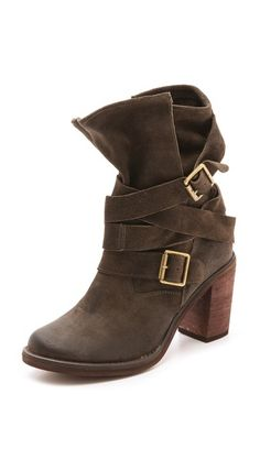 France Wrap Strap Boots by Jeffrey Campbell.  I have these and need to situate the straps this way because they do not look like this.