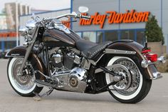 A 110th Anniversary Edition of the #Harley-Davidson Heritage Softail by #Thunderbike