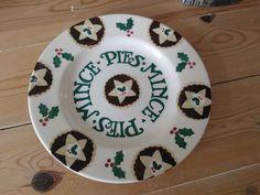 Emma Bridgewater Mince Pie Plate for Christmas 2013