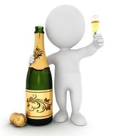 Illustration about white people with champagne and a crystal flute, isolated white background, image. Illustration of little, party, occasion - 26332912 Emoji Images, Emoji Pictures, Mood Gif, 3d Sticker, Stick Figure Drawing, Champagne, 3d Human, Powerpoint Design Templates, Sculpture Lessons