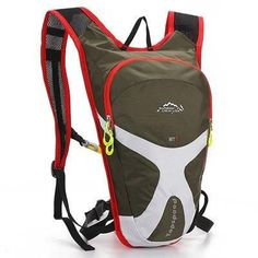 Sporty Color-Block Lightweight High-Quality Cycling Backpack 6 Colors