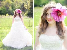 Wear your wedding dress again for a fashion shoot! Get a makeup artist, your hair done and be a model for a day!