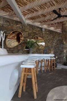 Jackie O Beach Mykonos by Petite Passport