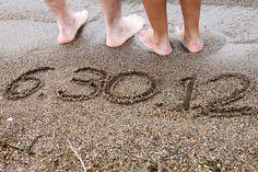 Save the date na praia