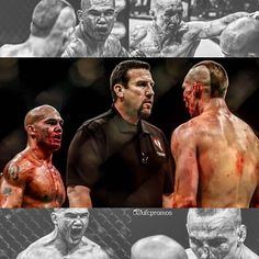 mash-up of Robbie Lawler vs Rory MacDonald at #UFC189 :