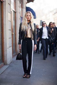 athletic-trend-street-style-trackpants-glitter-top