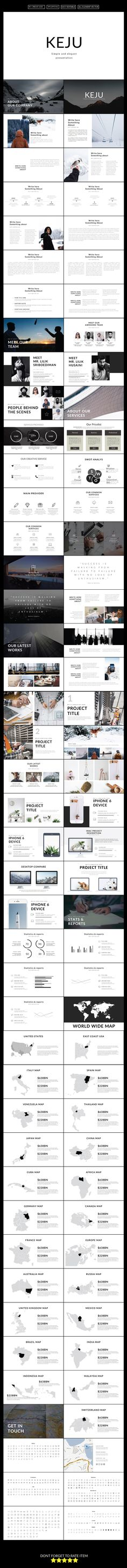 Keju Multipurpose Powerpoint Presentation Template
