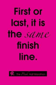 Same finish line.