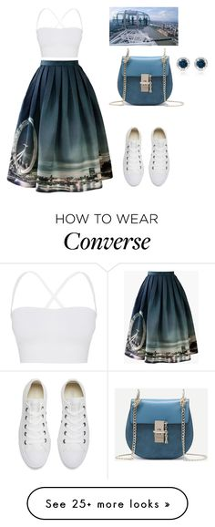 """""""Без названия #1065"""" by martusha200 on Polyvore featuring Chicwish, Theory, Converse and Dolce Giavonna"""
