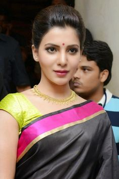 Actress Samantha Latest Cute Hot Exclusive Saree Navel Show Spicy Photos Gallery