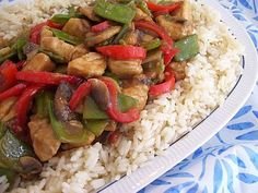 Easy To Be Gluten Free | Moo Goo Gai Pan Minus the mushrooms!!