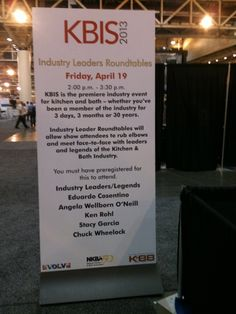 The Industry Leader Roundtables event