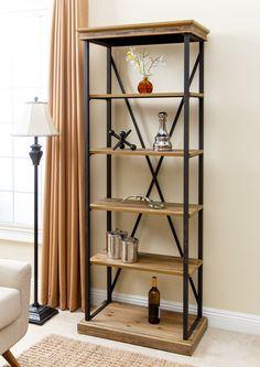 "Amberly 79"" Etagere Bookcase"
