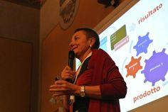 Marina Perego durante la sua presentazione!