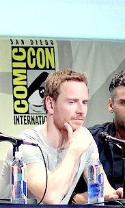 Michael Fassbender at Comic Con
