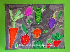 Tekenen en zo: Groente