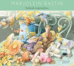 Marjolein Bastin's passion for the natural world is clearly expressed in her artwork. Her beautifully detailed nature paintings are featured in the Marjolein Bastin 2017 Deluxe Wall Calendar, Nature's