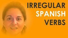 Irregular Spanish verbs