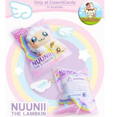 EXCLUSIVE Nuunii the Angel Lambkin squishy ~ by ppancollection Chibi licensed RARE