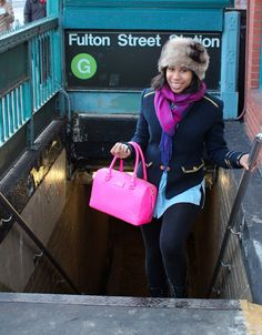 SubwayStyles: At Fulton Street Station - Brooklyn
