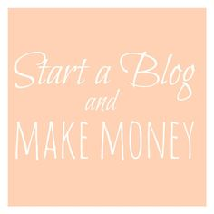 Resources and tips for starting a blog and strategies on how to make money blogging!! You can make money from a food blog. Make money today
