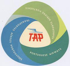 label TAP airways by Millie Motts, via Flickr