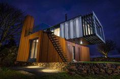 Habitações Moderno por Patrick Bradley Architects