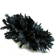 1 Grand noir oeillet - fleurs artificielles