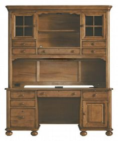 Stanley Furniture Computer Desk and Hutch